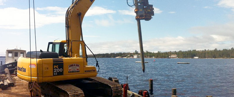 Land & Sea Contracting Header Image