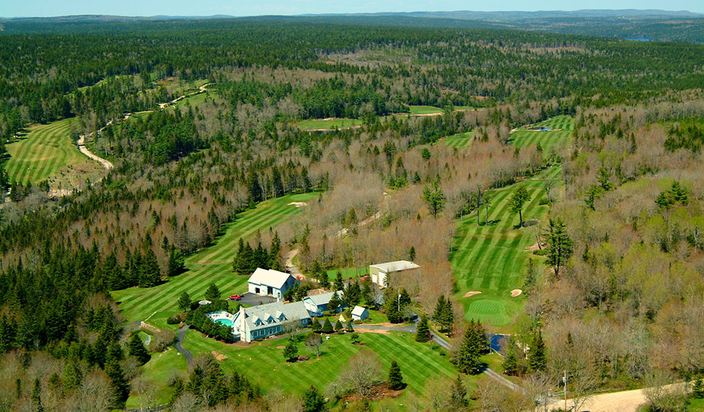 Sherwood Golf & Country Club Arial View